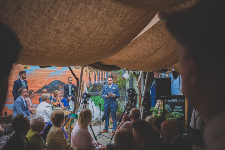 Jodie and Ian's 'Totally Us' Food Loving Sheffield Weddingby Mark Crayden Photography