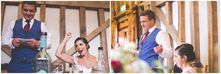 Charlie and Morgan's Gin and Tonic Themed Barn Wedding by Shootinghip