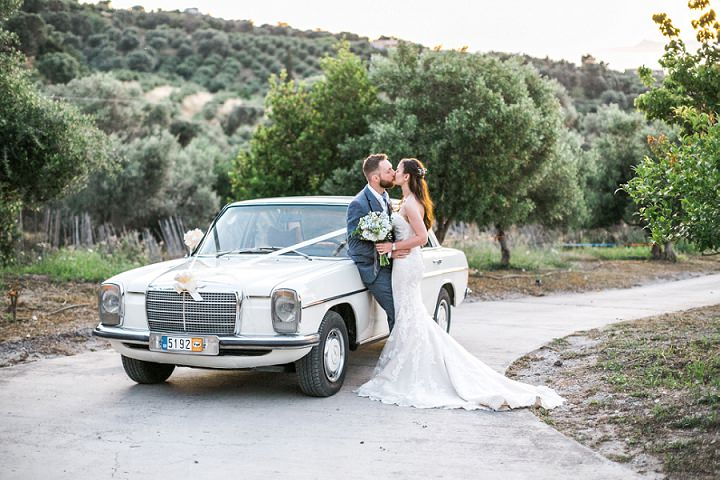 Lisa and Ben's 'Rustic Romance' Farm Wedding in Crete by Moments Weddings and Events