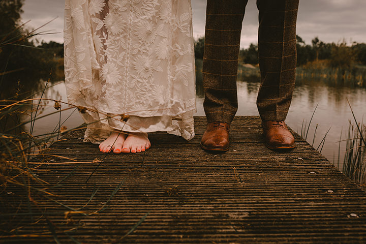 David and Lauren's Fun, Relaxed, Quirky DIY Wedding in Northern Ireland by Christin White Photography