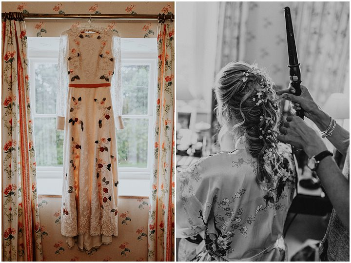 Isabel and Alastair's Gorgeous North Wales Tipi Wedding with a Sarah Pinkster Gown by Jen Marino