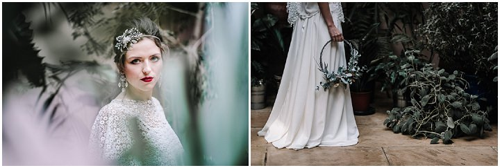 Snow Filled Botantical and Poetry Wedding Inspiration