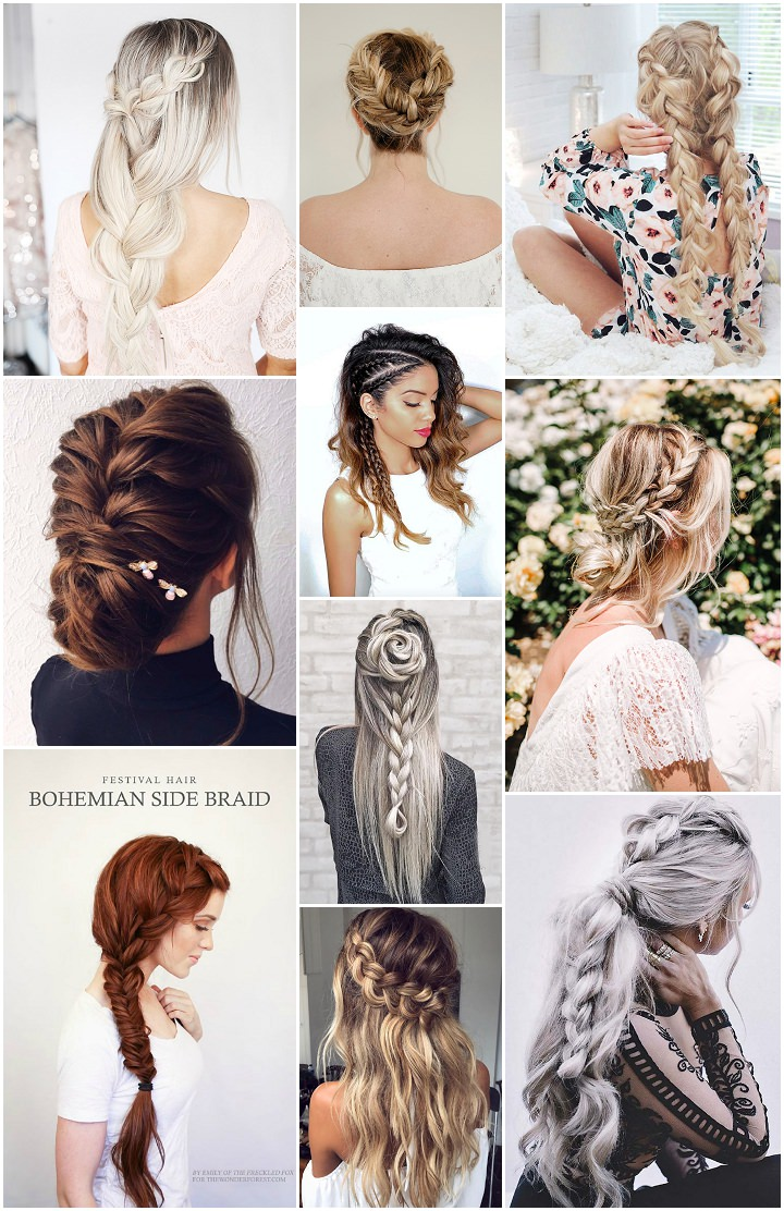 Boho Pins: Top 10 Pins of the Week – Braided Hair Styles
