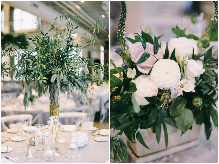 Louis And Alexandra S Super Glam Bohemian Meets Industrial Wedding