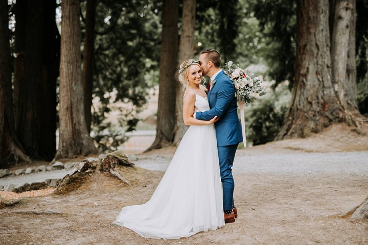 Maddie and Matt's Boho Chic Vineyard Wedding in Seattle by Patrick Nied Photography