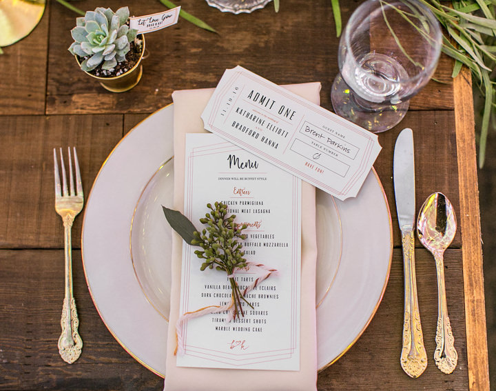 Katharine and Brad's Eclectic and Modern Handmade California Wedding by Kristina Lee Photography