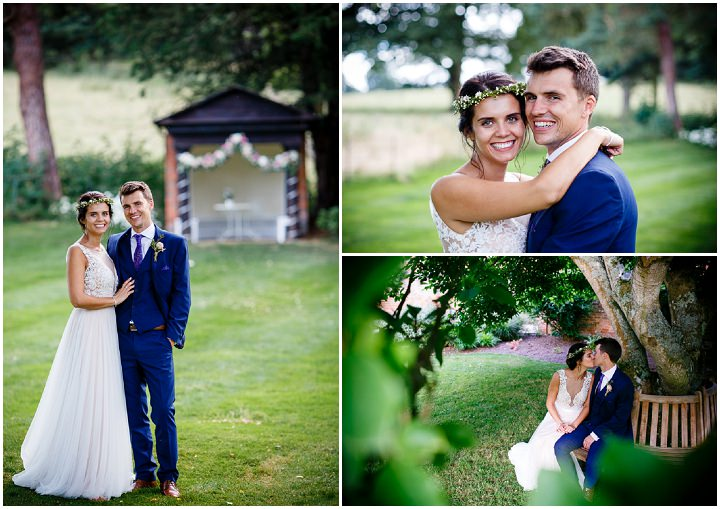 Nicholas and Katie's 'Summer Loving' Pretty Blush Tipi Wedding in Berkshire by Tony Hart Photography