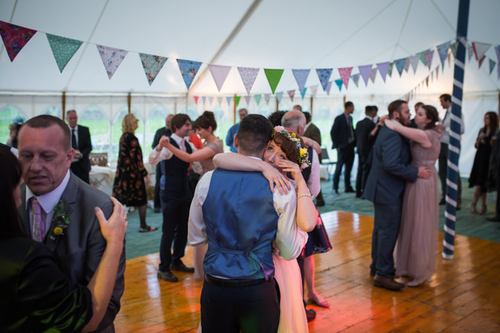 Hannah and Danil's Homespun Pastel North Yorkshire Farm Wedding by Stacy Irving Photography