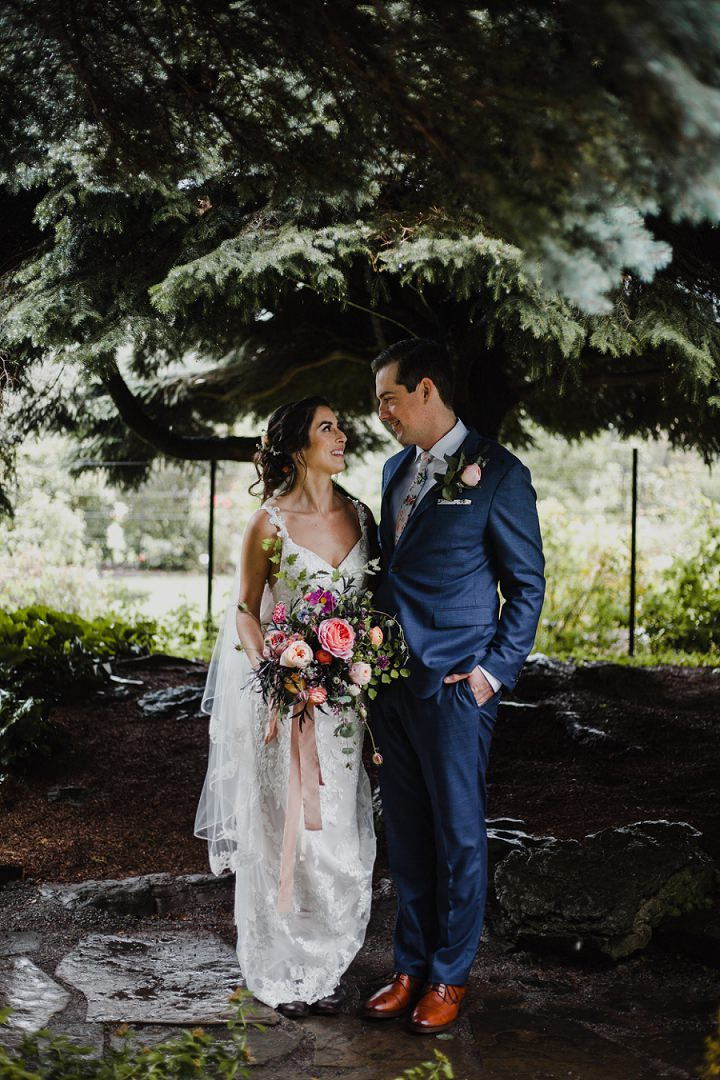 Katie and Brendan's 'Boho-Tanical Labour of Love' Jewish Wedding by Jennifer See Studios