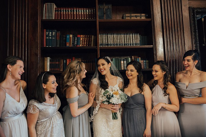 Elizabeth and Jon's Gold and Greenery Super Glam Wedding by Shelly Pate Photography