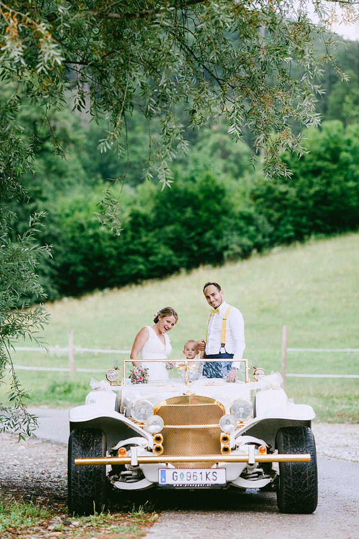 Natalie and Michael's Family Friendly Outdoor Wedding in Austria by Velvet Love
