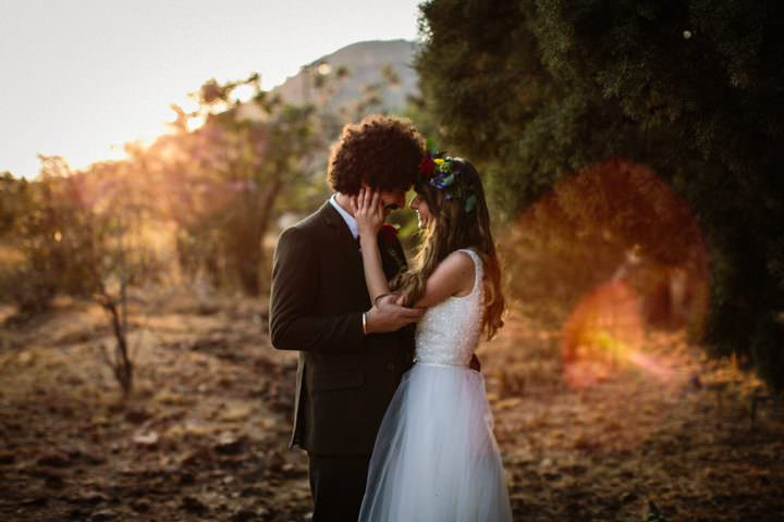 Ivana and Matthew's Homemade Colourful Johannesburg Wedding by Andy and Szerdi