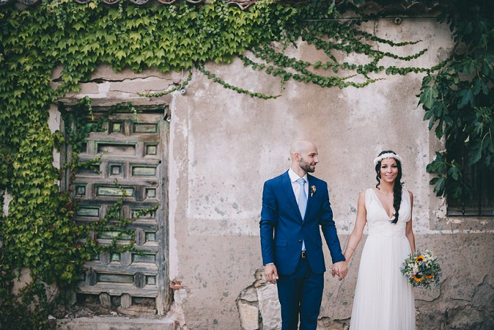Jessica And Rubén Were Married On 14th August 2017 At Antigua Fábrica De Harinas In Madrid With 60 Guests We Wanted A Very Close Wedding