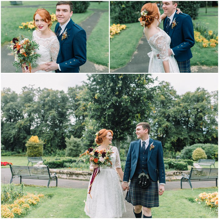 Lynsey And Michael's Pretty And Personal Autumnal Wedding