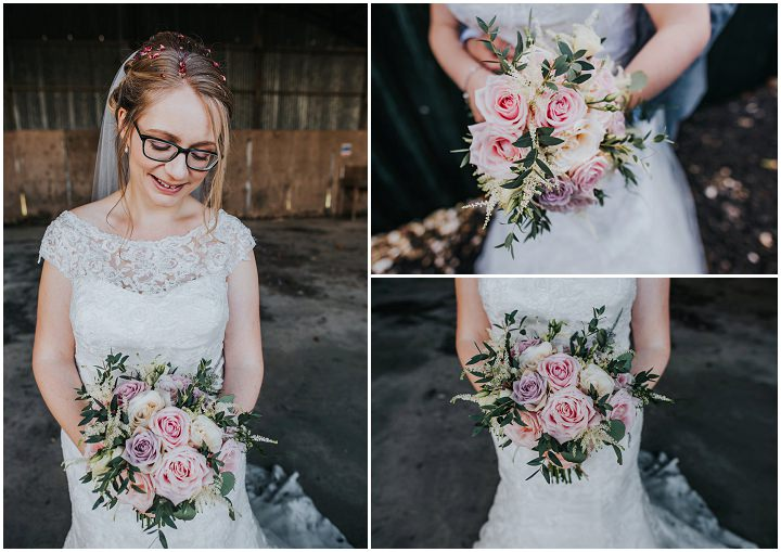 Thomas and Lisa's Fun Filled Rustic Barn Wedding With a Petting Zoo by This and That Photography