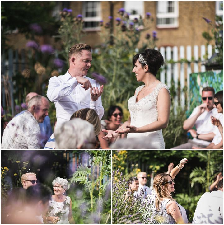 Catherine and John's 'Distressed Vintage' Handmade London Wedding by Emma Hare Photography