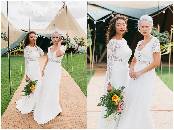 Welcome To The Jungle - Tipi Wedding Inspiration