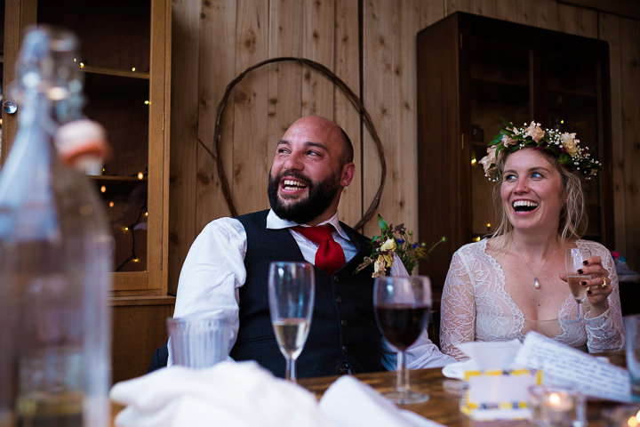 Laura and Mike's Rustic and Rural Weekend Long, Welsh Farm Weddingby Tom Weller and ByChenai