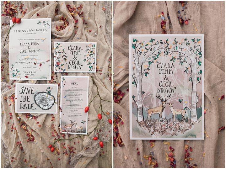 Eco Friendly Woodland Wedding Inspiration