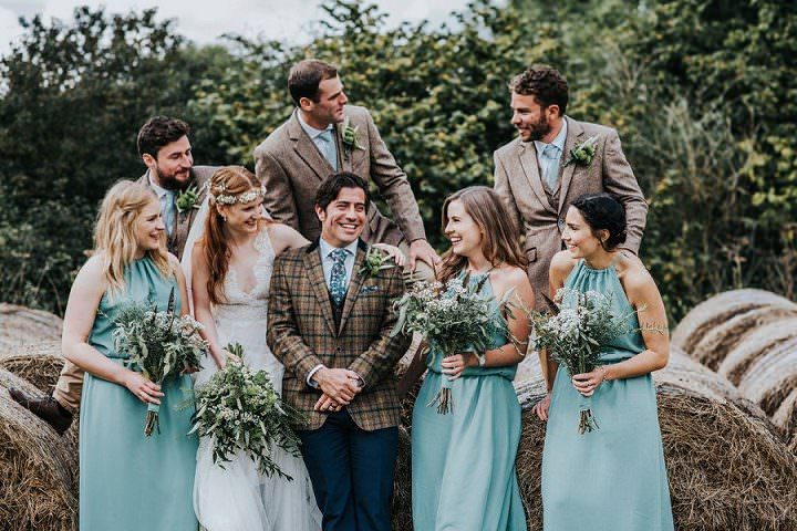Lucas and Joanna's Totally DIY 'Wild Bohemian' Barn Wedding by This and That Photography