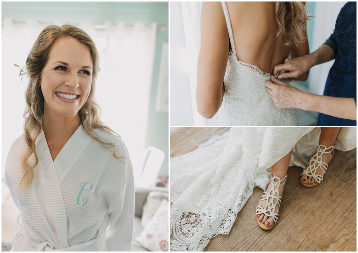 Cassie and Sebastian's Casual Boho Beach Wedding in Florida by Katelyn Prisco Photography