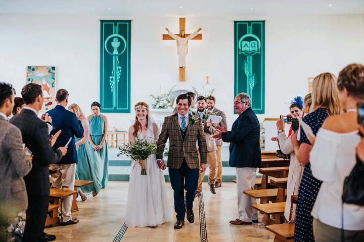 Lucasand Joanna's Totally DIY 'Wild Bohemian' Barn Wedding by This and That Photography