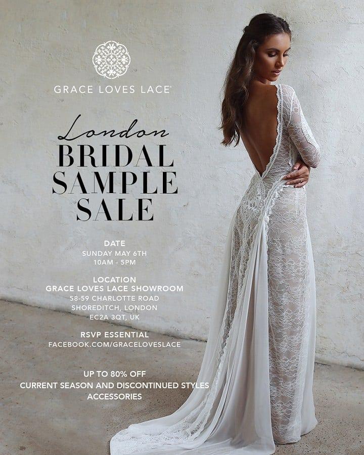 Grace Loves Lace London Sample Sale Boho Weddings For The Boho