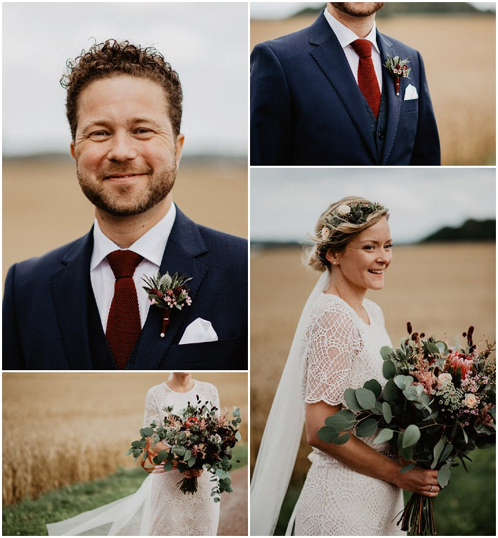 Andreas and Malin's 'Bohemian Midsummer Night's Dream' Rustic Elegance Swedish Wedding by Aase Pouline