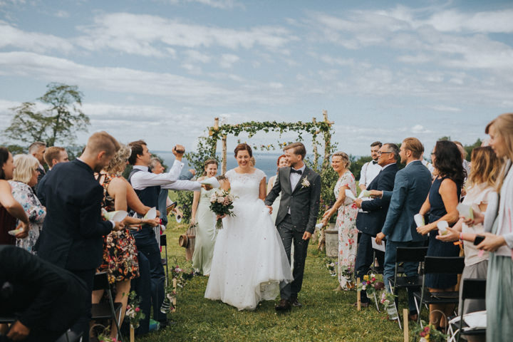 Ida and Morten's Handmade Rustic Barn Wedding in Sweden by Jana Julian