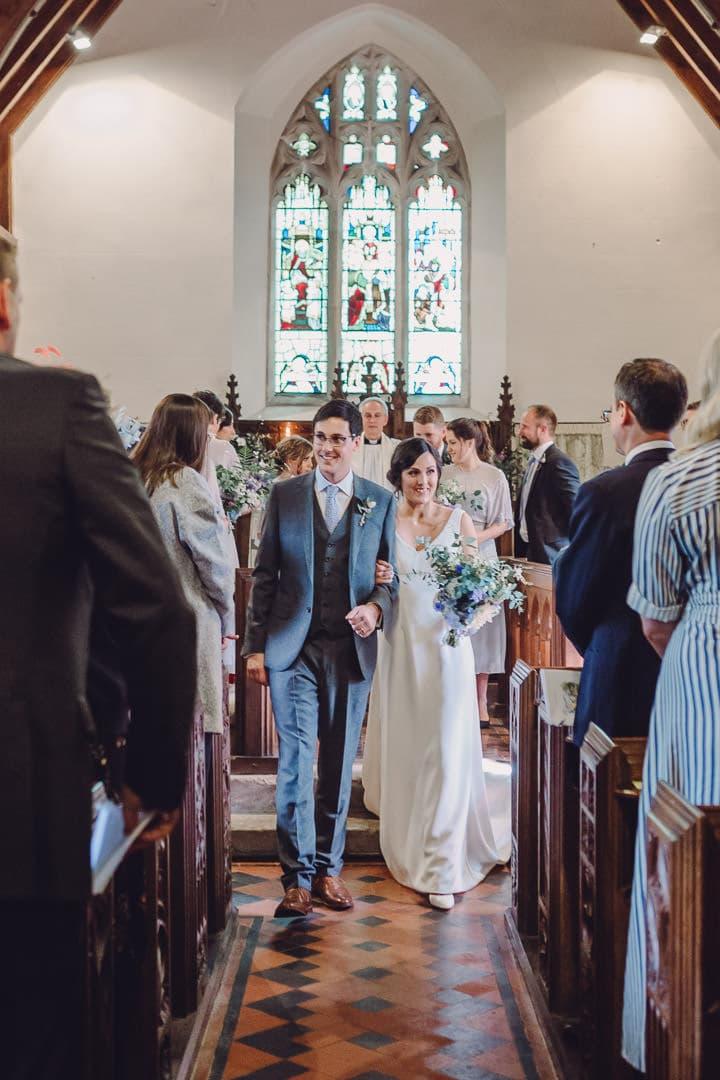 Megan and Alex's Homespun Country Devon Wedding by Jennifer Jane Photography