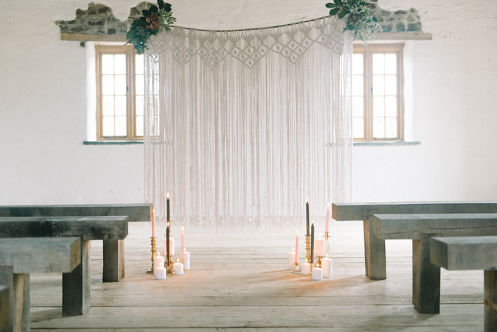 Rich and Bohemian Seasonal Wedding Inspiration with a Touch of Earthy Cornish Beauty