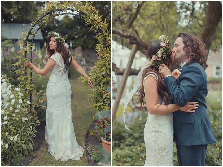 Bianca and Anthony's Handcrafted Nature Loving Wedding at Home by James Green Photography