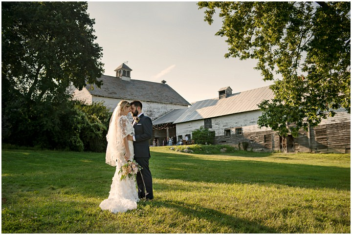 Katherine and Michael's 'Elevated Rustic' New York Country Farm Wedding by Carla Ten Eyck Photography