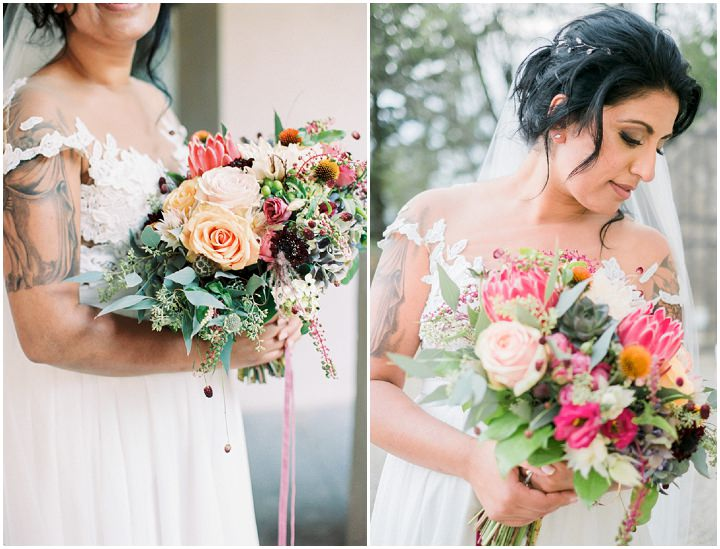 Hina and Joachim's Bright and Beautiful Outdoor Tuscany Wedding by Esther and Gabe
