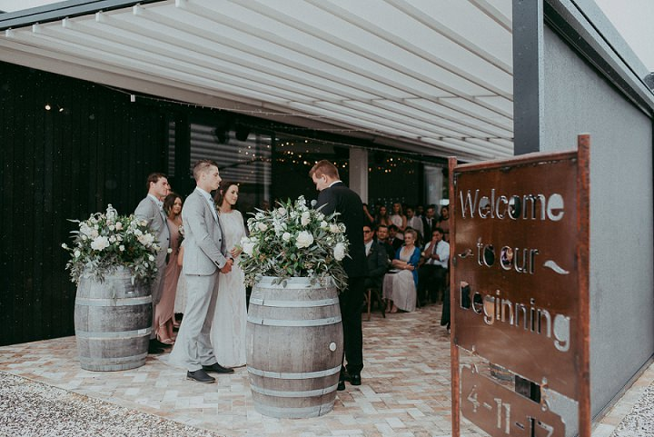Tayvia and Kyle's Beautiful Bohemain New ZealandWedding with First Look by Levien & Lens photography