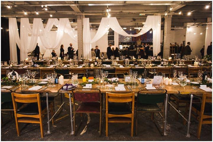 Laura And Jonny S Super Stylish Sheffield Warehouse Wedding