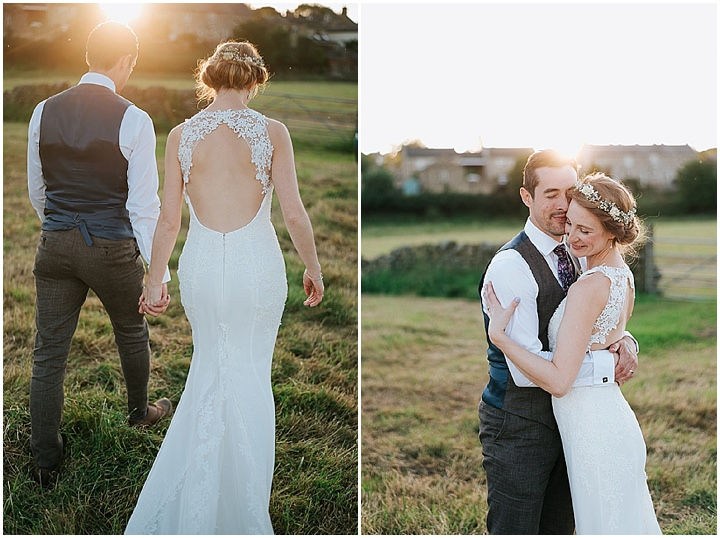 Sarah and Lawrence's Laid Back Handmade Tipi Wedding in North Yorkshire by Alfred and Co Photography