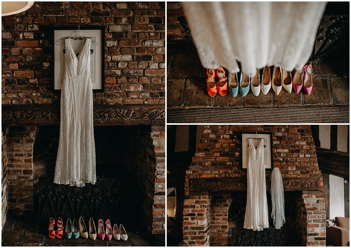 Katie andKiron's Colourful Summery Rustic Barn Wedding With a Silent Disco by Miracle Moments