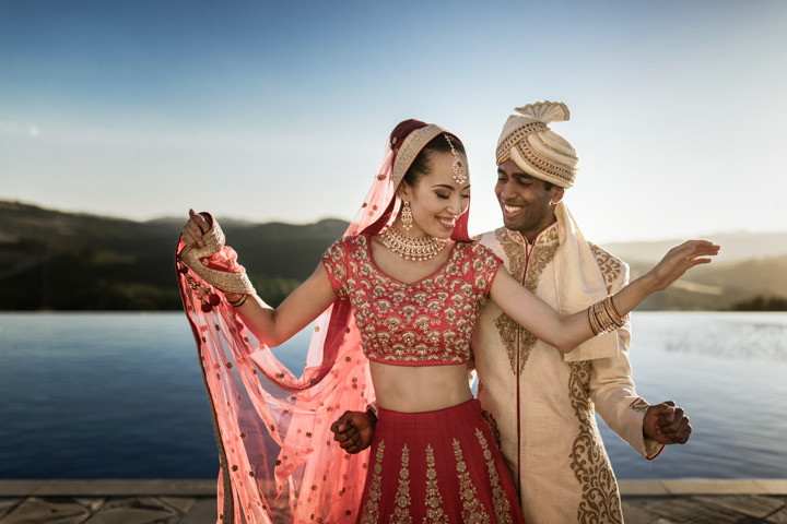 Helena and Vivek's Beautiful 'Big Fat Indian Wedding' in Tuscany by Nicola Tonolini