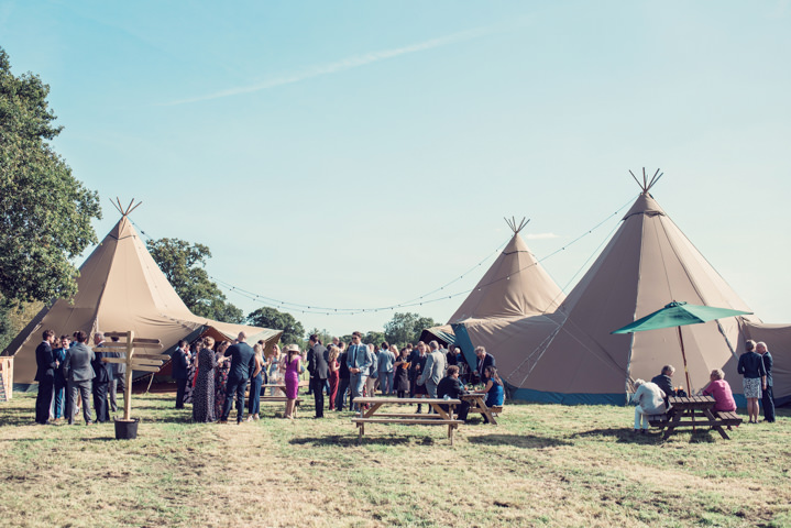 Lizzie and Matt's Laid Back Pastel and Greenery Tipi Wedding in Wiltshire Jessica Raphael Photography