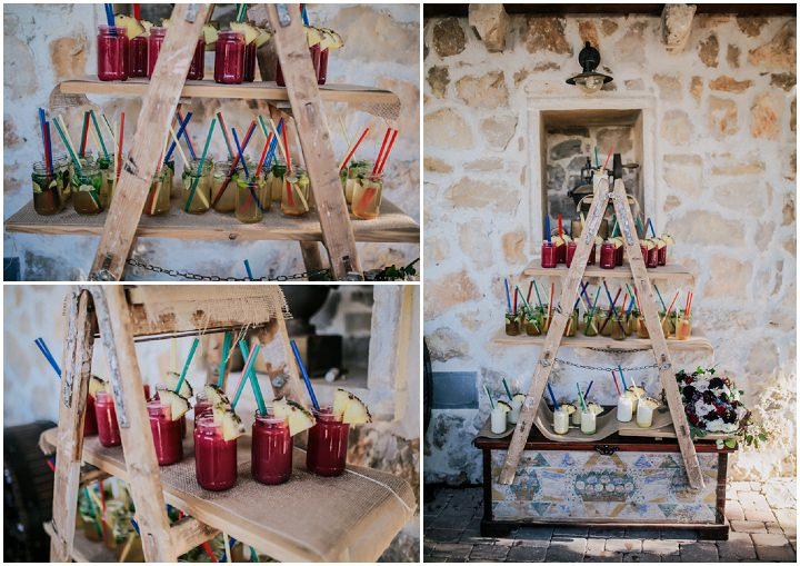 Martha and Christian's 'Venezuela meets Croatia' Eco Friendly Greenery Wedding by Mihoci Studios