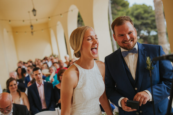 Franziska and Sven's 'Casual Mediterranean Wedding' in Croatia with a Touch of Boho by Vladimir Mudrovcic
