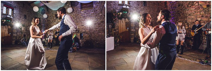 Jennifer and Robert's 'From Wedding Gown to Play Suit' Fun Filled Lancashire Barn Wedding by Mike Plunkett