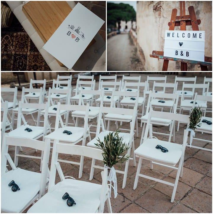 Barbara and Bert's Elegant 'Rustic Chic' Barcelona Wedding by Pearl Sandles