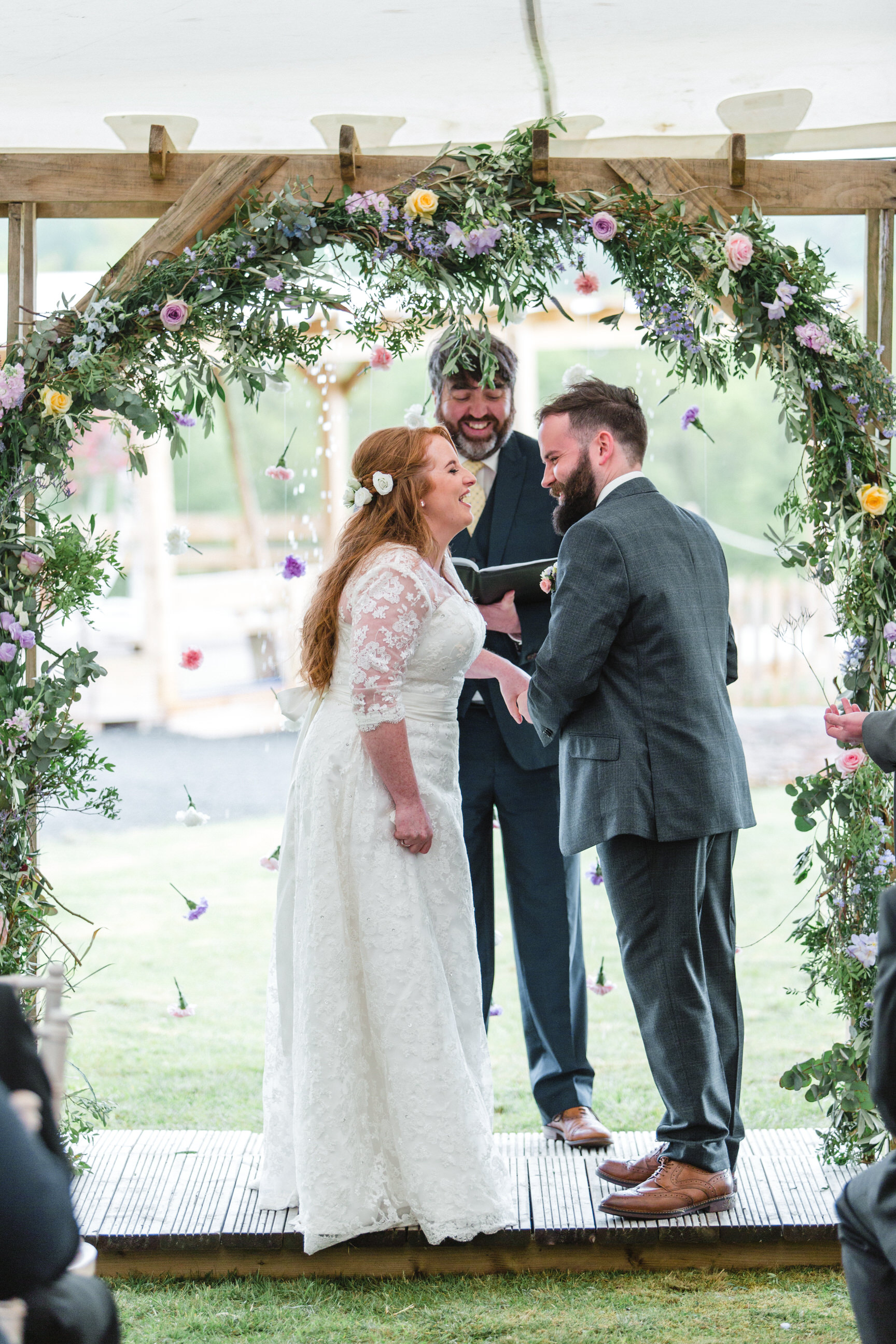 Lauren and Tony's 'Springtime Pastel' Laid Back Rustic Scottish Wedding by The Gibsons