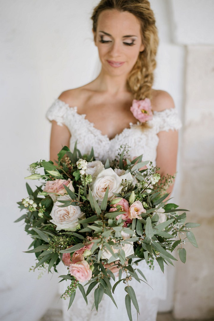 Garyl and Dil's Pistachio and Rose Boho Inspired Italian Wedding by Andrea Antohi