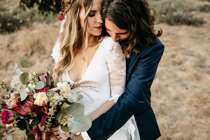 Jessie and Claudio's Beautiful Bohemian Outdoor 'House Party' Wedding in California by The Gathering Season