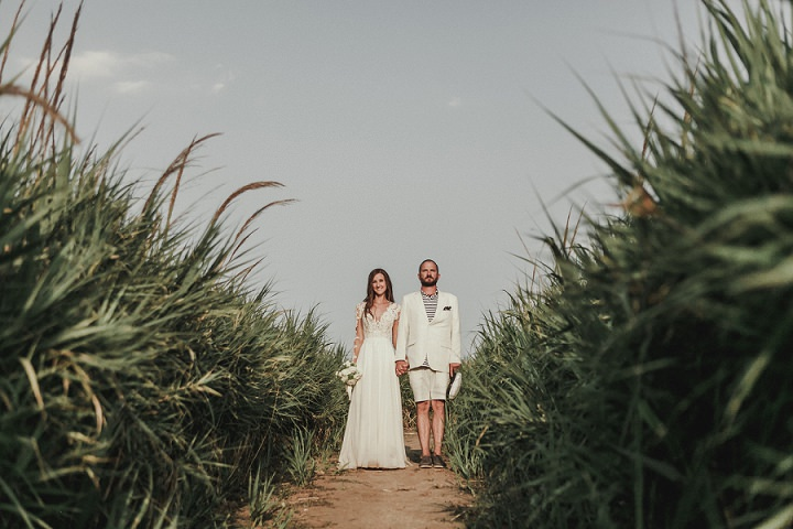 Kerstin and Peter's Rustic Beach Wedding in Croatia by Robert Pljuscec