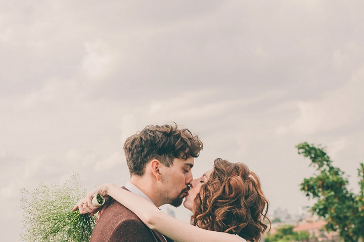 Sophie and Jack's Fun, Industrial, Kick Ass Peckham Wedding by Catherine Regan