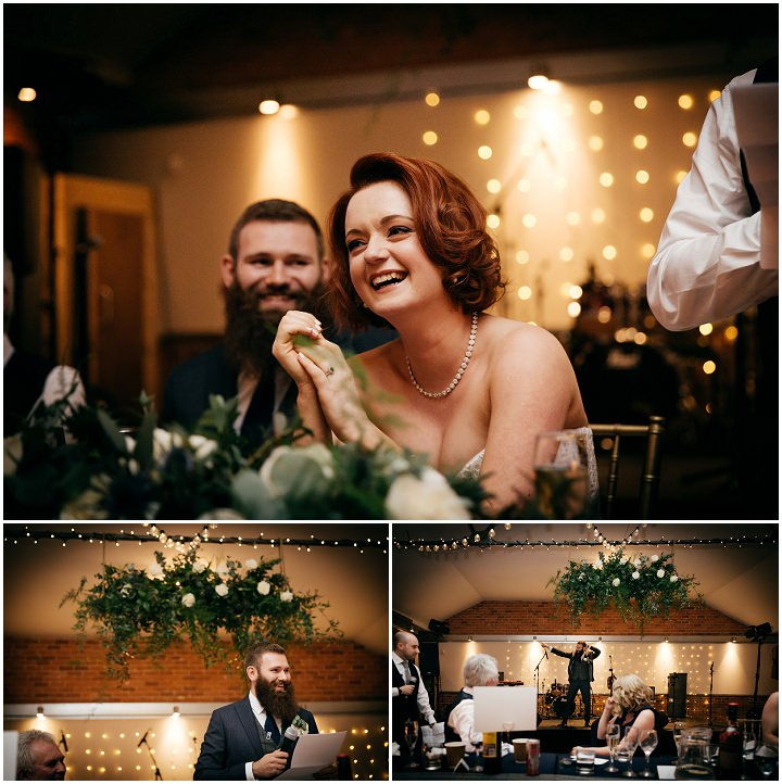 Jane and Ben's Urban Chic Navy and Gold Leeds Wedding by Amber Marie Photography